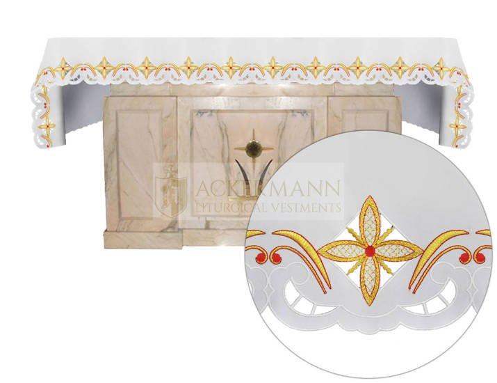 Altar cloth crosses