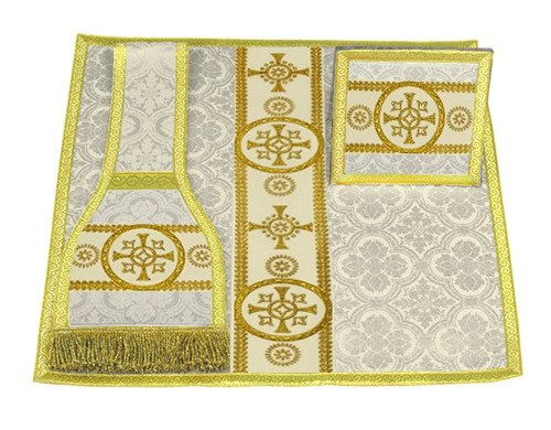 Burse, maniple and chalice veil model 579