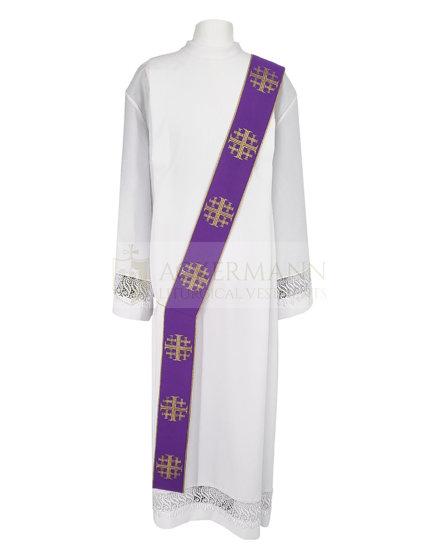 Deacon Stole Jerusalem crosses model 103