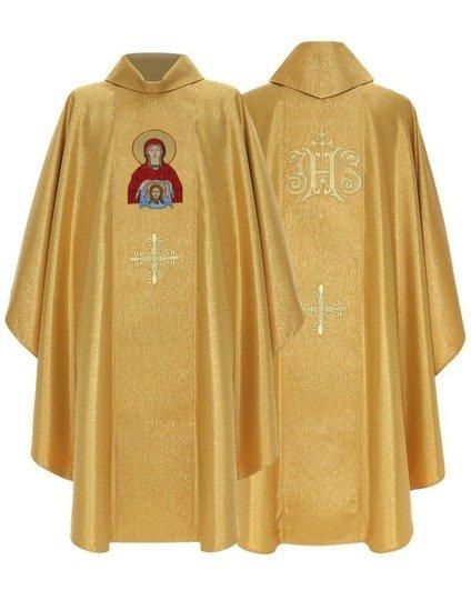 Gold Gothic Chasuble Saint Veronica model 434