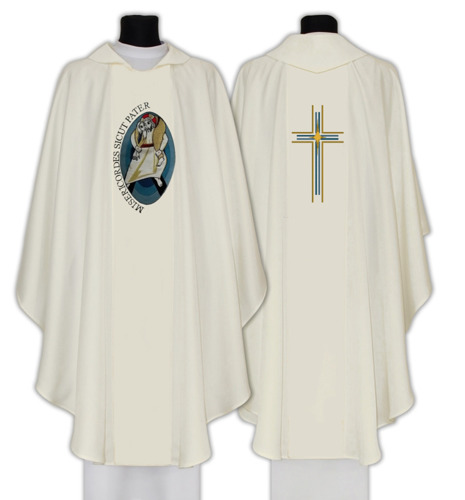 Gothic Chasuble Year of Mercy model 712