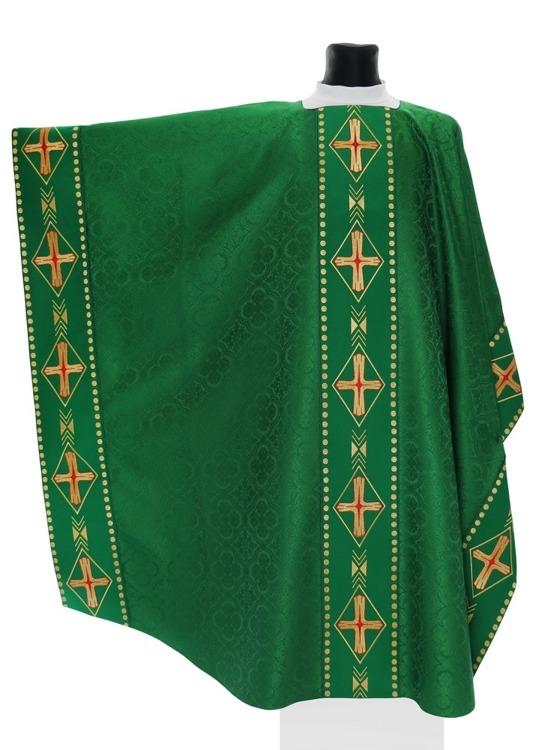 Green Monastic Chasuble model 553