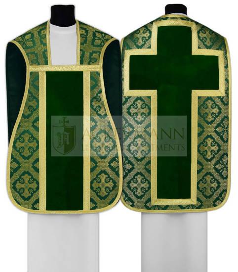 Green Roman Chasuble