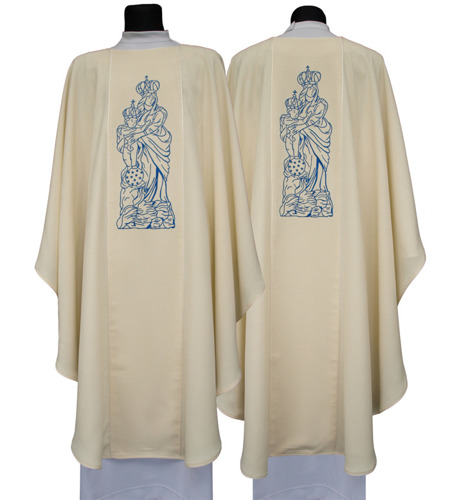 Marian Gothic Chasuble model 608