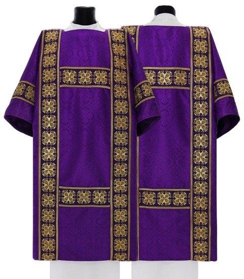 Purple Semi Gothic Dalmatic (lined)