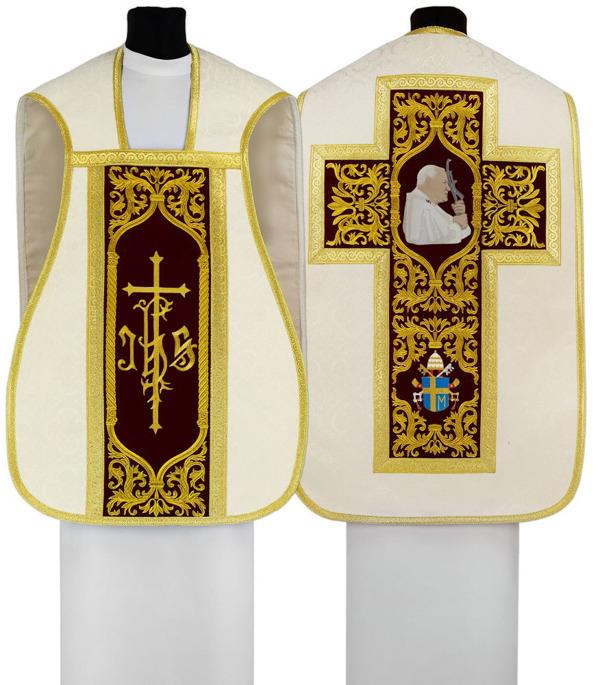Roman Chasuble St. John Paul II
